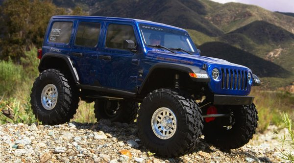 1/10 SCX10 III Jeep JLU Wrangler with Portals 4WD Kit (AXI03007)