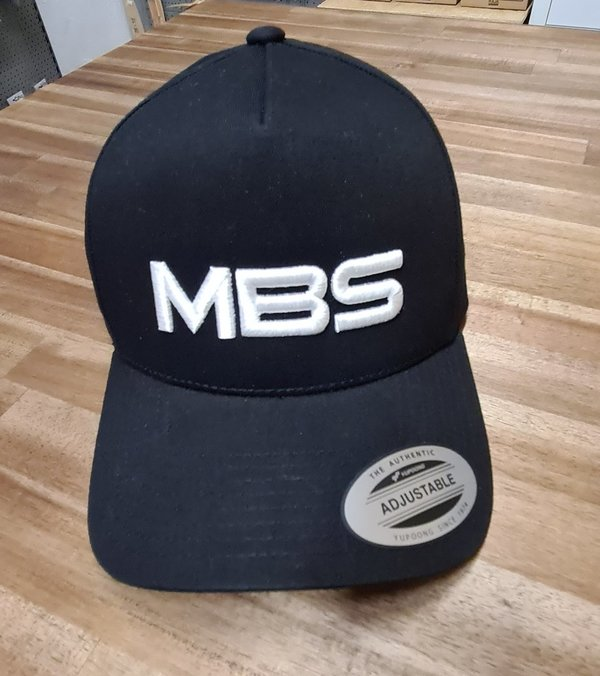 5-Panel Curved Classic Snapback mit MBS Logo
